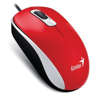 Chuột máy tính Genius DX110, Red USB_31010116104